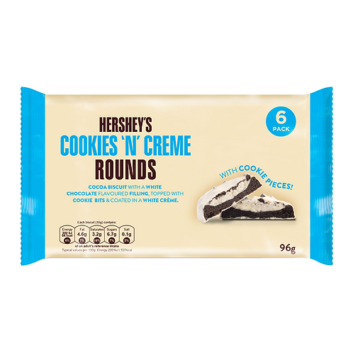 Hershey's Cookies 'N' Creme Rounds