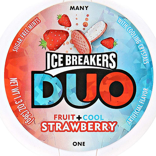 Ice Breakers Duo Strawberry Mints