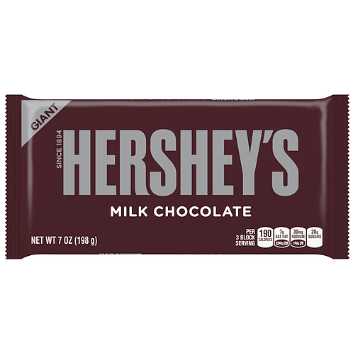 Hershey's Giant Milk Chocolate - [198g]