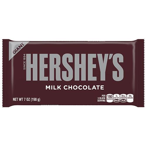 Hershey's Giant Milk Chocolate - [198g]