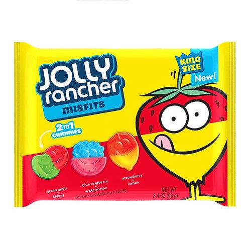 Jolly Rancher Misfits 2 In 1 Gummies - [96g]