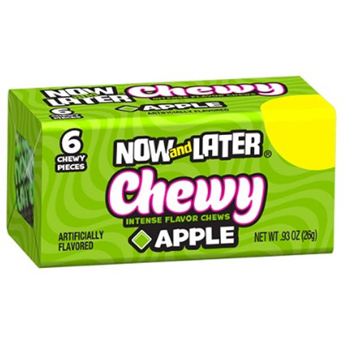 Now And Later Chewy Apple