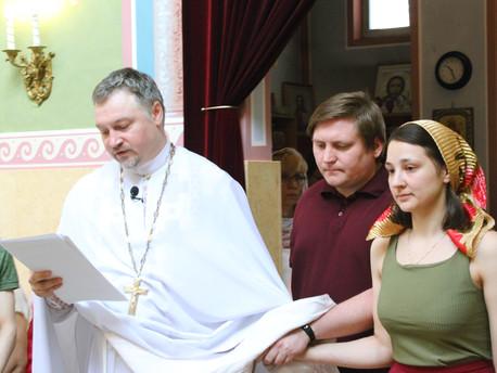 Чин присоединения к Православной Церкви в нашем храме