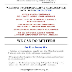 What Does Income Inequality and Racial Injustice Look Like in CT?
