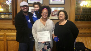 Marilyn Dunkley Earns Parental Involvement Recognition Award