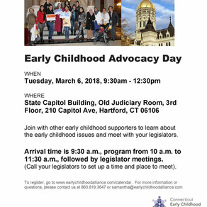 Early Childhood Advocacy Day: March 6