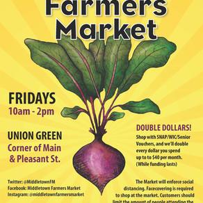 Middletown Farmers Market Seeking Volunteers