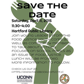 Resources from Food Justice Meeting