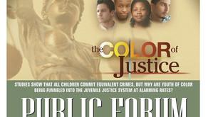 The Color of Justice Public Forum