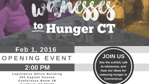 Witnesses to Hunger CT Event