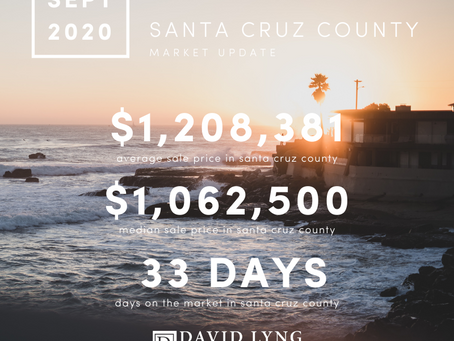 Santa Cruz Market Update - September 2020
