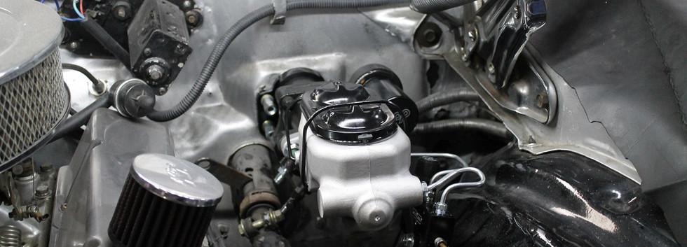 Voici l'hydroboost installé dans la Camaro