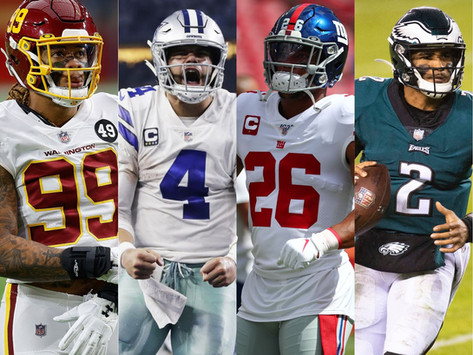 NFL 2021 Division Previews/Predictions: NFC East