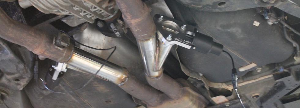 Les cutout sont soudés en place. Il reste à cabler les moteurs.