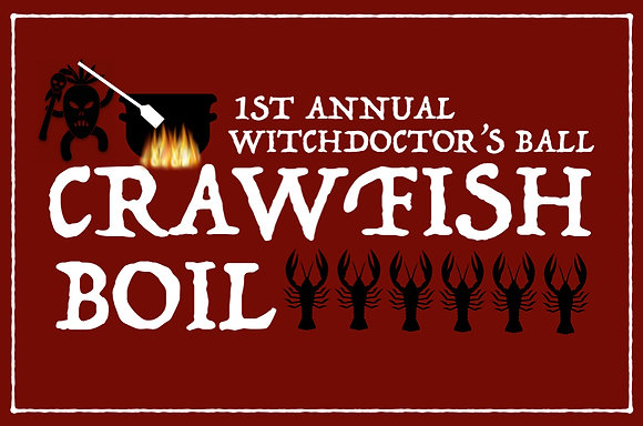 Witchdoctor's Ball Crawfish Boil