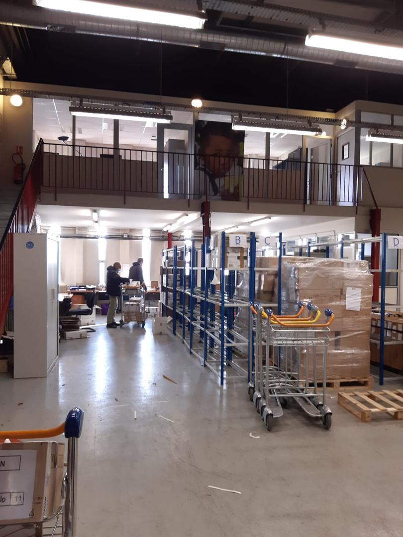 les nouveaux locaux d'ASF à Roissy