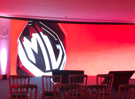 MG ZS Launch for AT Communications
