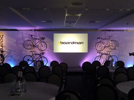 Boardman Bikes relaunch to Halfords Staff