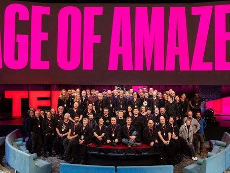 Outstanding crew TED2018 Vancouver