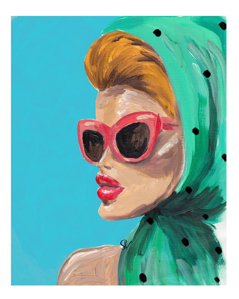 summer fashion illustration Stella Visual