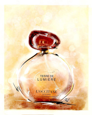 Just received a Bottle on Terre de lumie