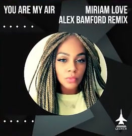Miriam Love Apple Itunes Promo Pic - You Are My Air (Alex Bamford Mix)