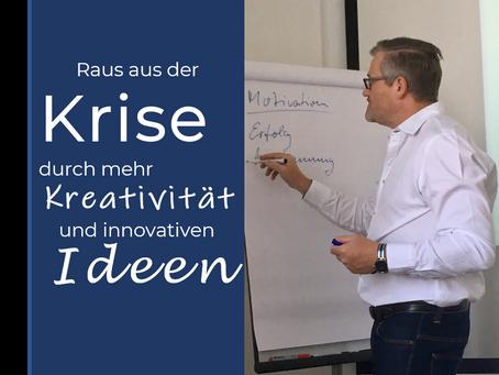 """""""Wenn wir kein Geld haben, dann brauchen wir wenigstens gute Ideen.""""  - Wege zu mehr Kreativität"""