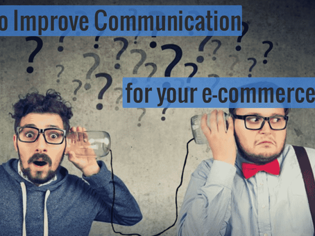 5 ways to improve communication for your eCommerce website