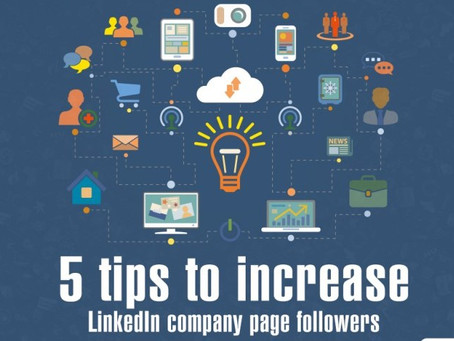 5 tips to increase follower on Linkedin