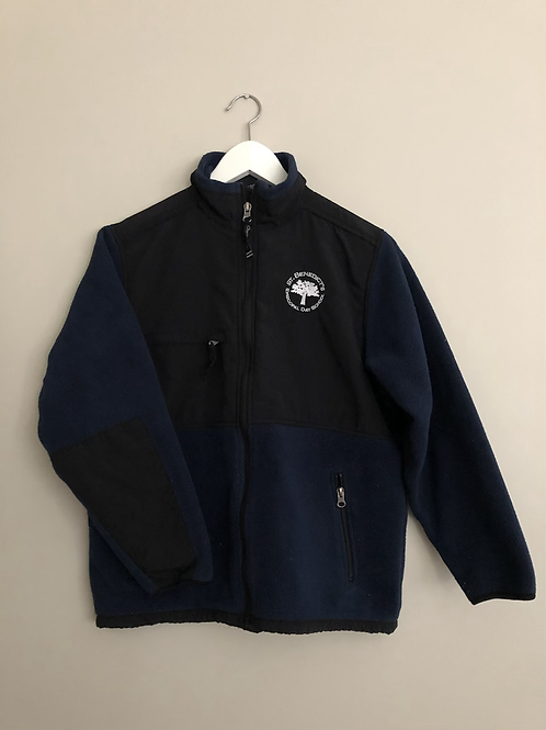 Navy/Black Fleece