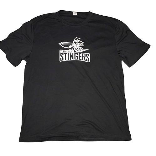 Dry Fit Short Sleeved Stinger Tee - Adult