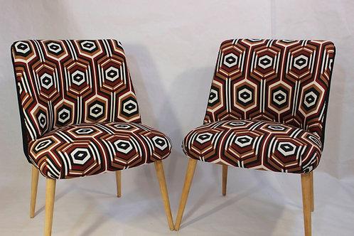 SEVENTIES#chaises vintage