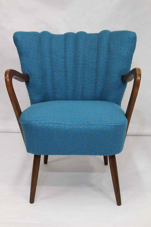 CHINA BLUE#fauteuilbridgeaccoudoirvintage