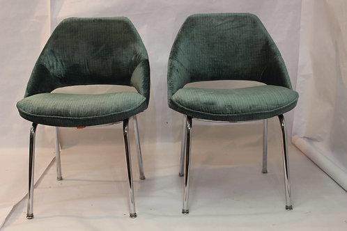 BLUE TWINS#chaises vintage