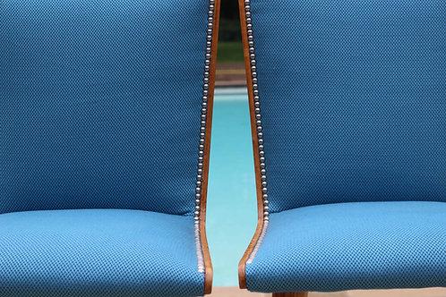 BLUE POOL#chaises vintage