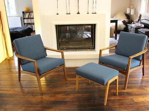 LOUNGE#fauteuil scandinave vintage