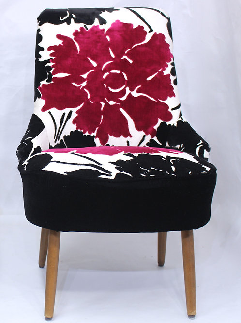 FLOWER#Fauteuil cocktail sans accoudoir