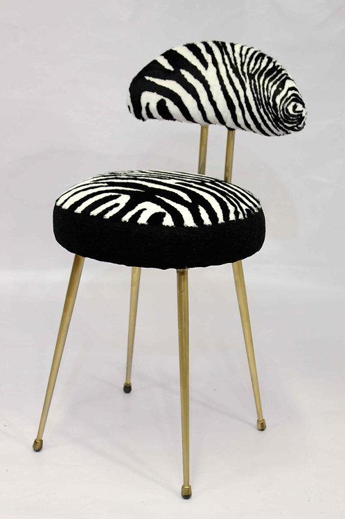 ZEBRA02#chaise vintage
