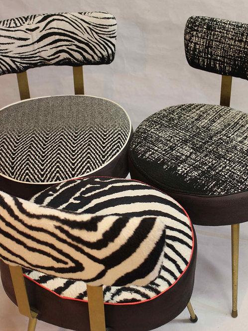 TRIO#chaises vintage