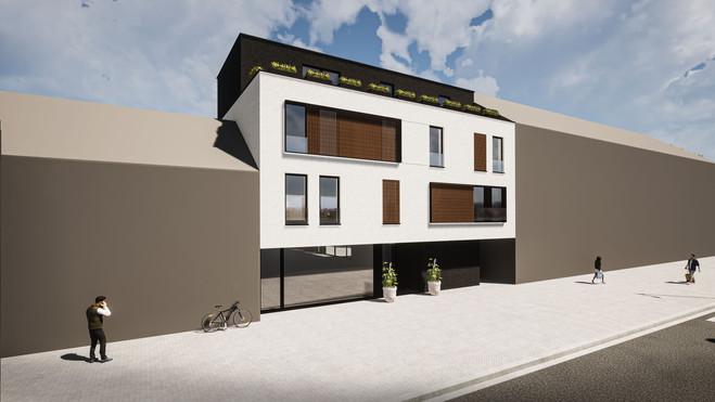 Totaal aanneming Nieuwbouw appartementsgebouw