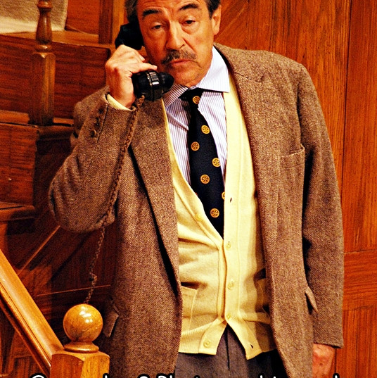 Neil Stacy in _Dry Rot_ Live Theatre The