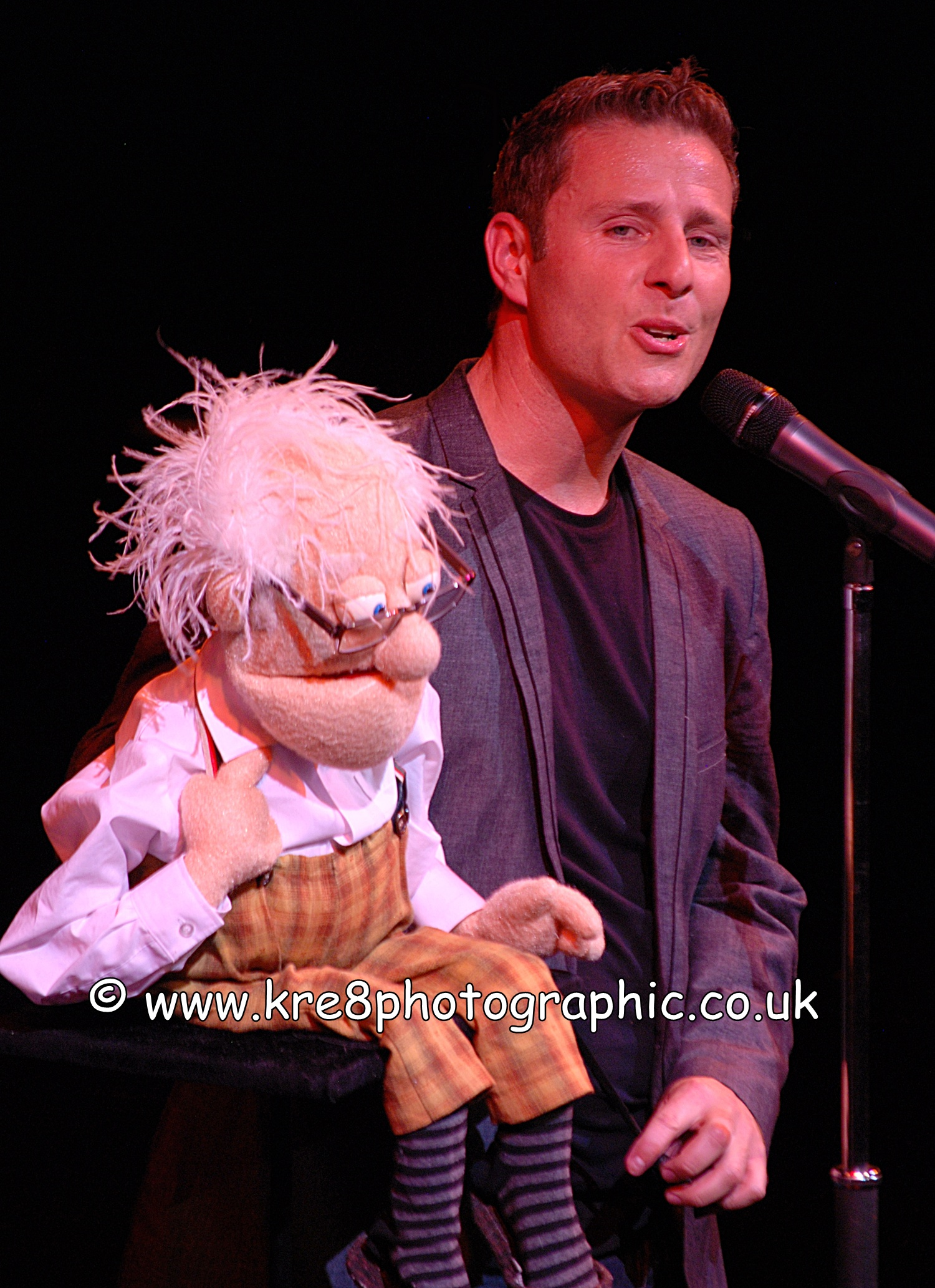 Paul Zerdin Grand Theatre Blackpool Live Theatre Theatrical Photography kre8photographic