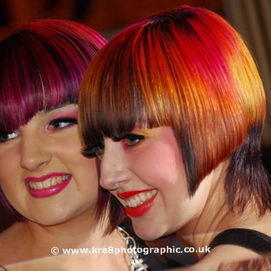 Models Blackpool Hair & Beauty Show (NHF