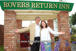 David Neilson & Patti Clare, Roy & Mary from Coronation Street. Celebrity Press Photography By www.k