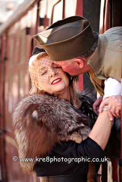 Press & PR Picture for East Lancashire Railway 1940's Weekend. Press & PR Photograph