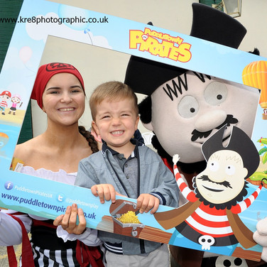 Fun with Captain Puddles Botany Bay Fest www.kre8photographic.co.uk