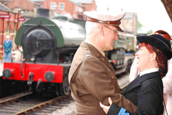 Press & PR picture for East Lanc Railway 1940's Weekend. Press & PR Photography