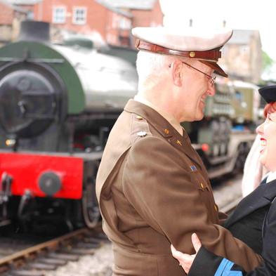 Press & PR 1940's Weekend East Lancs Railway