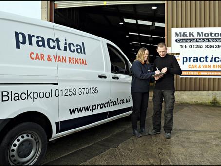 Practical Car & Van Rental Ltd Corporate Brochure Shoot