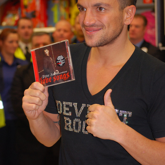 Peter Andre Celebrity Publicity
